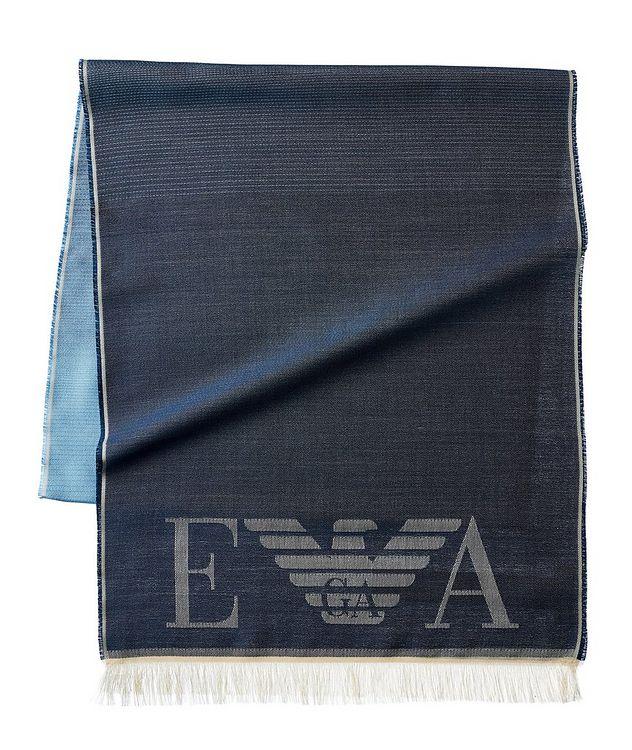 Écharpe en soie avec logos picture 1