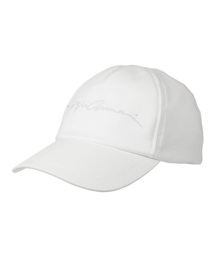 Stretch-Cotton Baseball Cap image 0