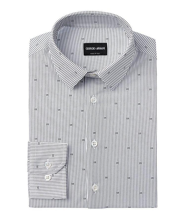 Printed Cotton Dress Shirt image 0