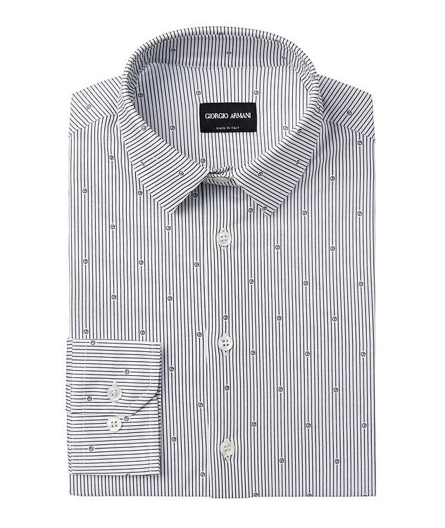 Printed Cotton Dress Shirt picture 1