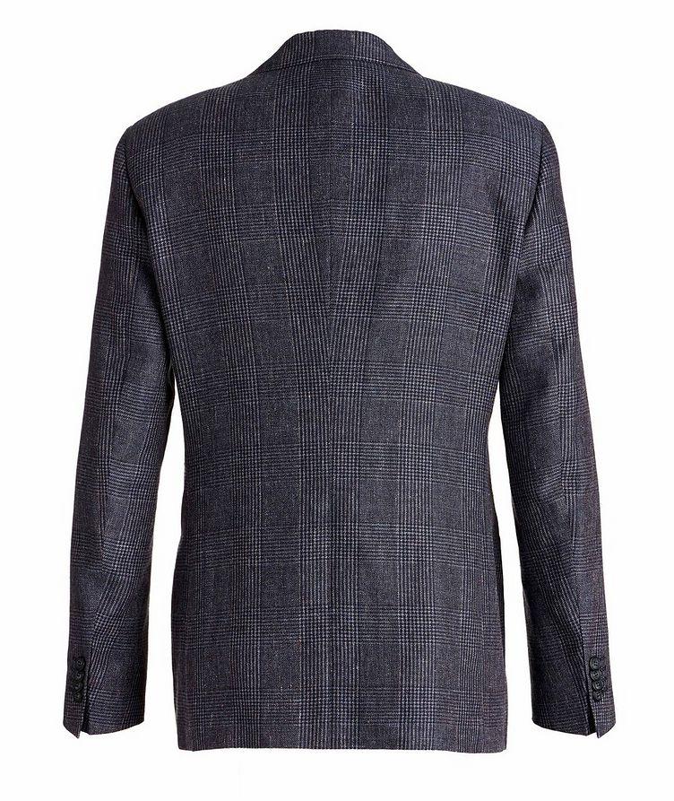 George Linen, Alpaca, and Silk Sports Jacket image 1