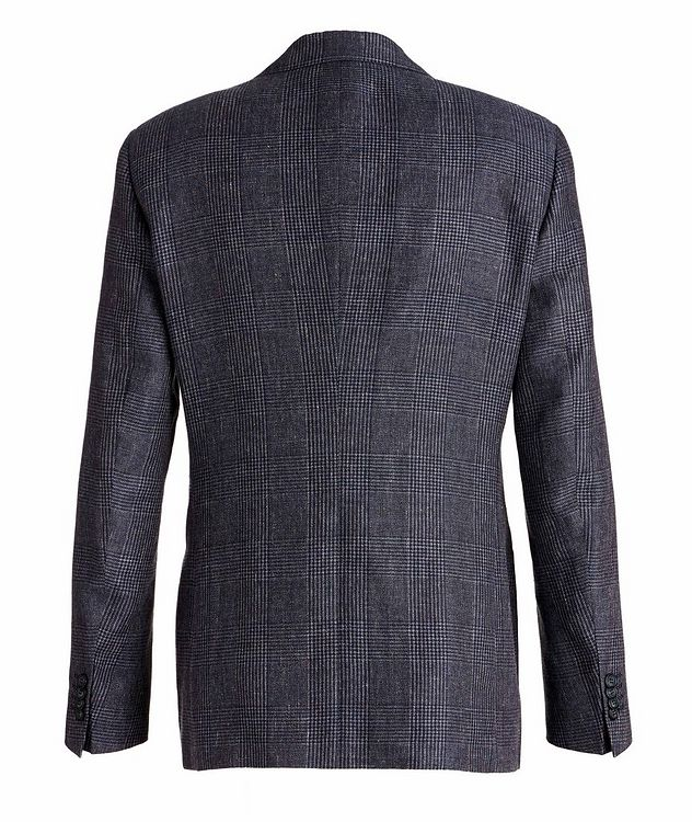 George Linen, Alpaca, and Silk Sports Jacket picture 2