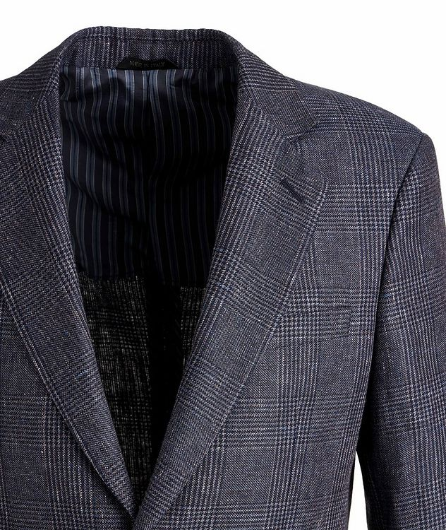George Linen, Alpaca, and Silk Sports Jacket picture 3