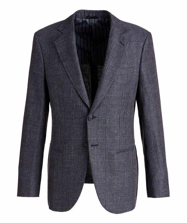 George Linen, Alpaca, and Silk Sports Jacket image 0