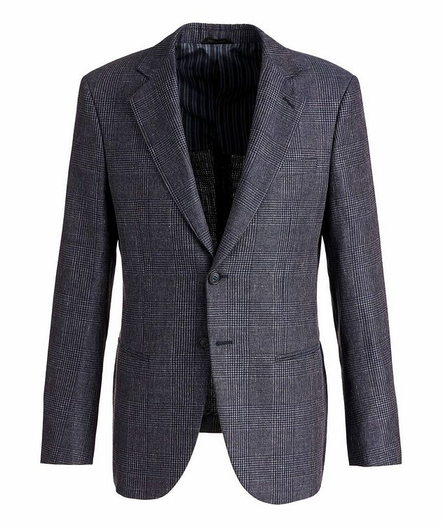 George Linen, Alpaca, and Silk Sports Jacket picture 1