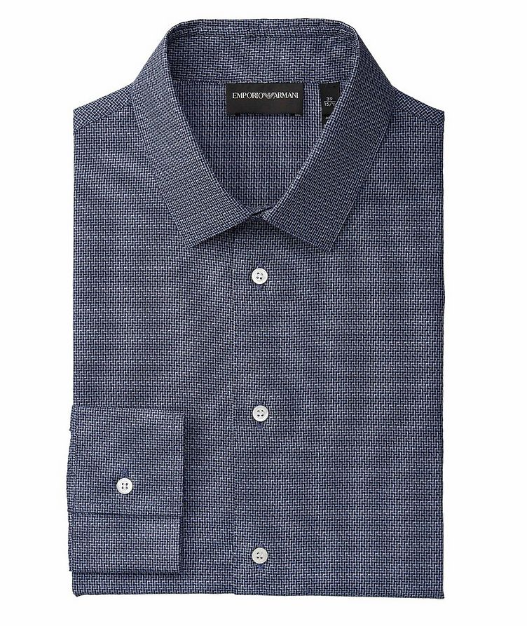 Slim-Fit Cotton Dress Shirt image 0