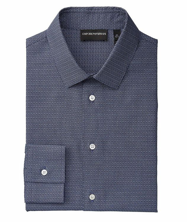Slim-Fit Cotton Dress Shirt picture 1