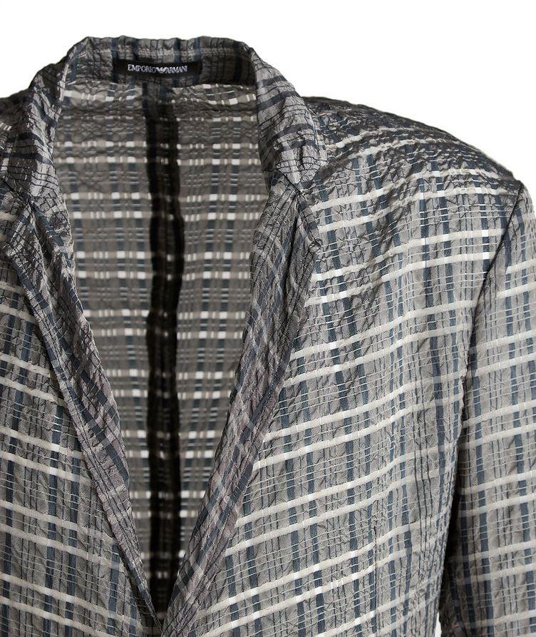 Light Wardrobe Checked Sports Jacket image 2