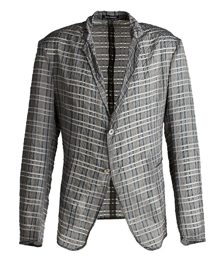 Light Wardrobe Checked Sports Jacket image 0