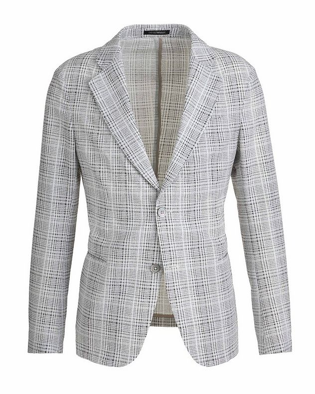 Unstructured Stretch Sports Jacket picture 1