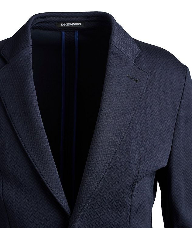 Unstructured Herringbone Sports Jacket picture 3