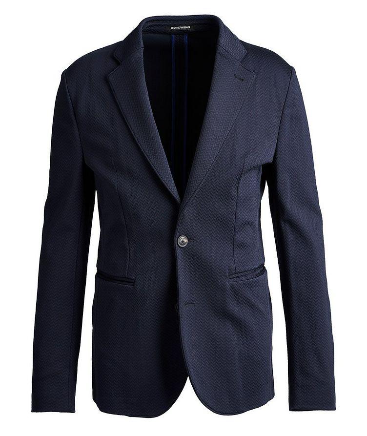 Unstructured Herringbone Sports Jacket image 0