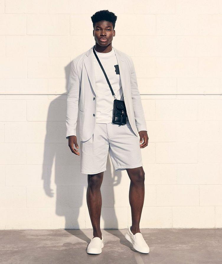 Unstructured Cotton-Blend Sports Jacket image 3