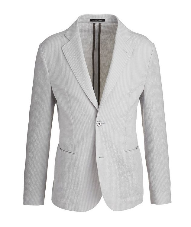 Unstructured Cotton-Blend Sports Jacket picture 1