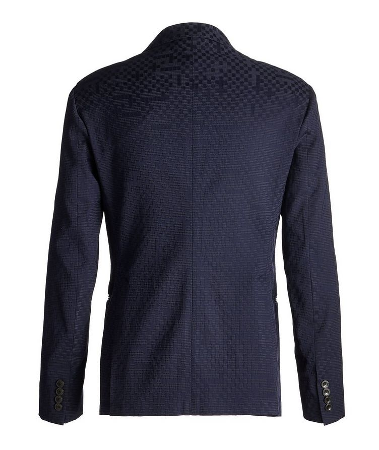 City Line Checked Cotton-Blend Sports Jacket image 1