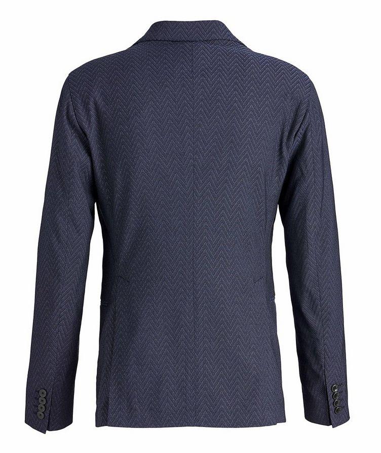 Slim-Fit City Line Stretch-Wool-Silk Sports Jacket image 1