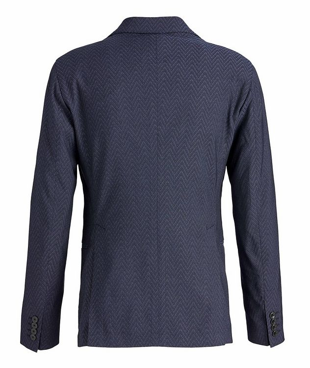 Slim-Fit City Line Stretch-Wool-Silk Sports Jacket picture 2
