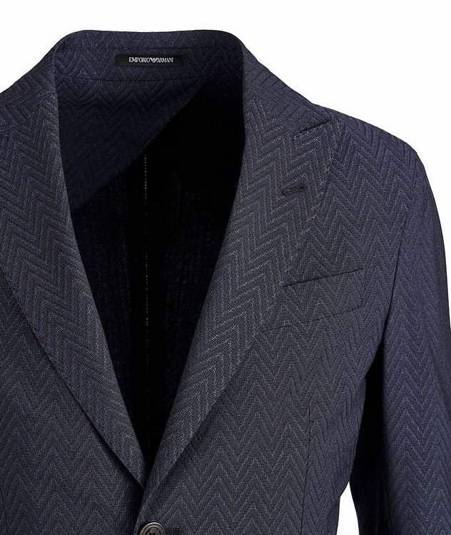 Slim-Fit City Line Stretch-Wool-Silk Sports Jacket picture 3