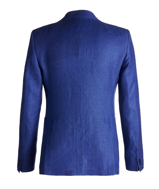 Savile Line Contemporary Fit Linen-Wool Sports Jacket  picture 2