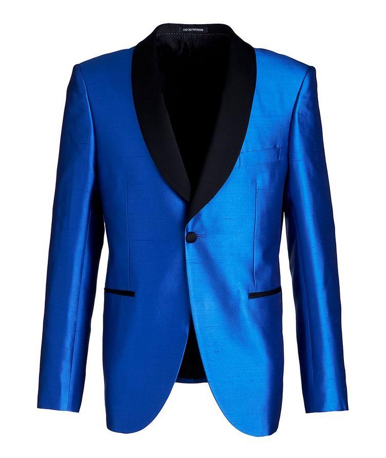 Slim Fit Satin Tuxedo Jacket image 0