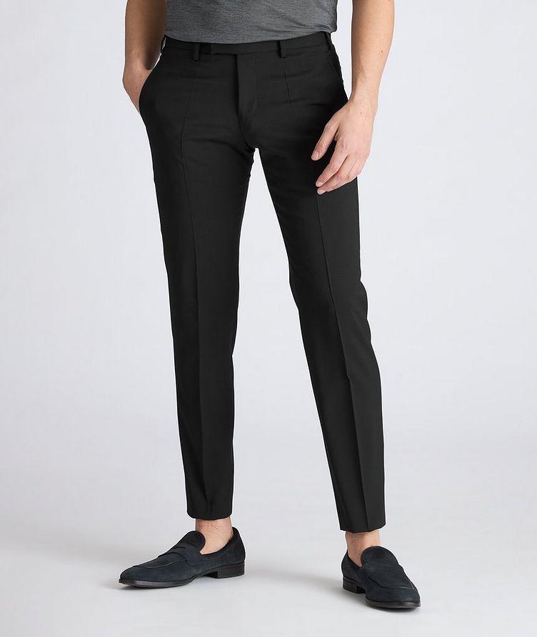 Slim-Fit Wool Dress Pants image 1