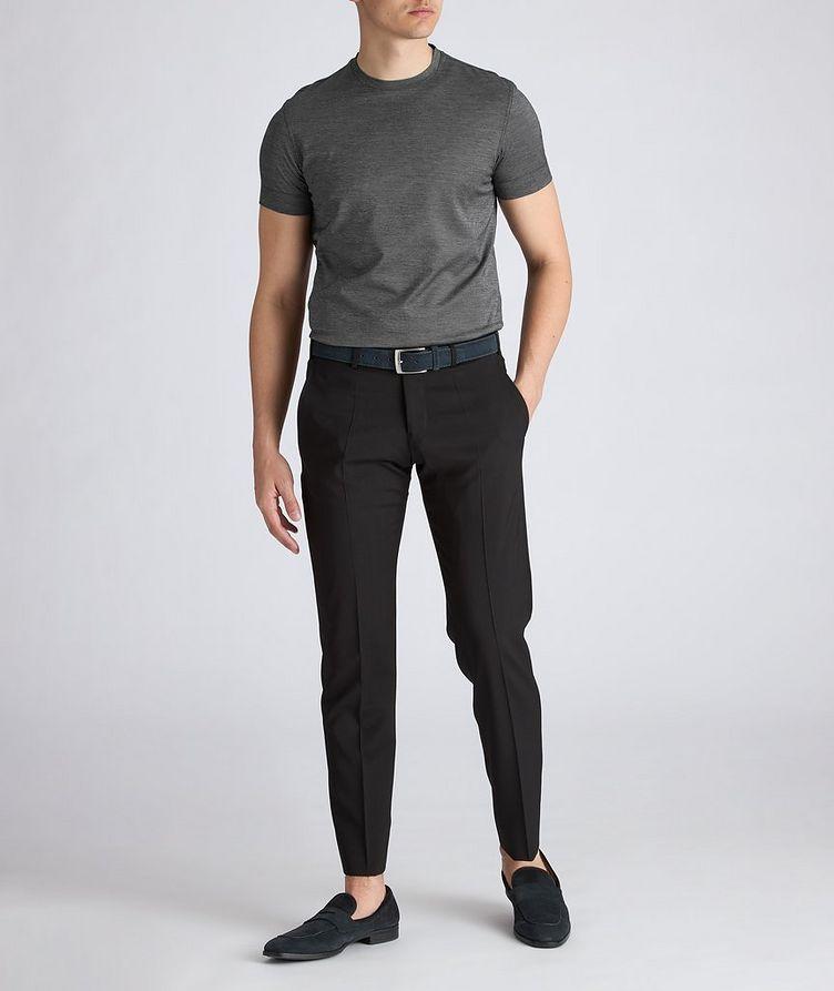Slim-Fit Wool Dress Pants image 3