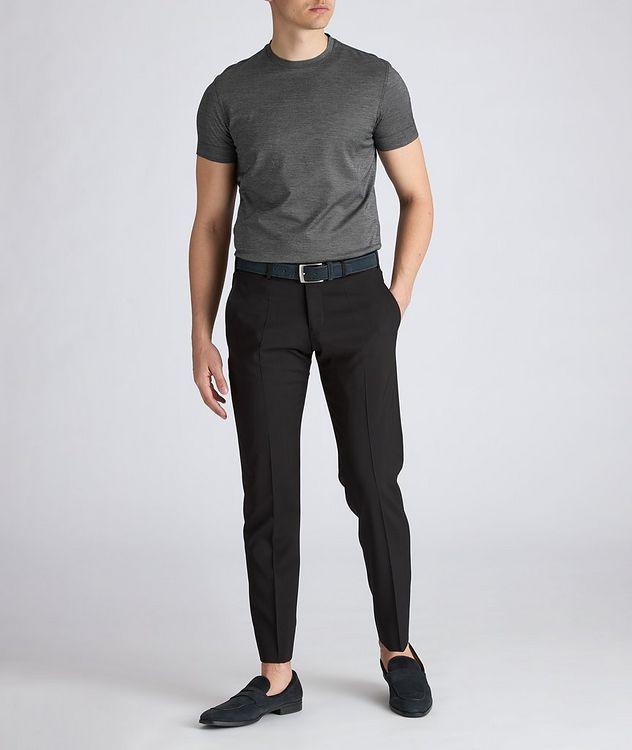 Slim-Fit Wool Dress Pants picture 4