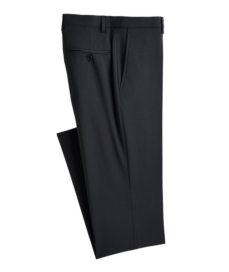 Slim-Fit Wool Trousers image 0