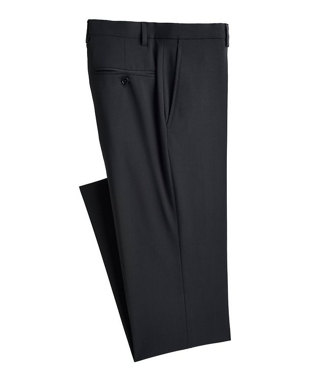 Slim-Fit Wool Trousers picture 1