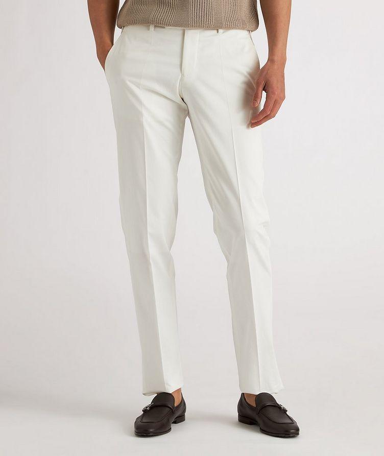Stretch-Cotton Dress Pants image 1
