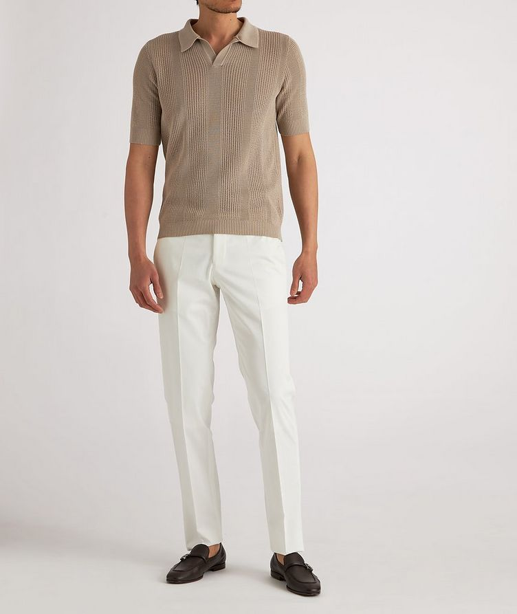 Stretch-Cotton Dress Pants image 3