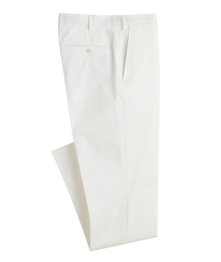 Stretch-Cotton Dress Pants image 0