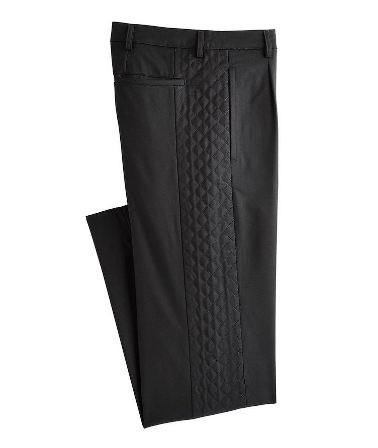 Slim-Fit Wool-Blend Dress Pants image 0