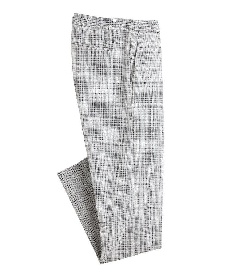 Open Weave Drawstring Pants image 0