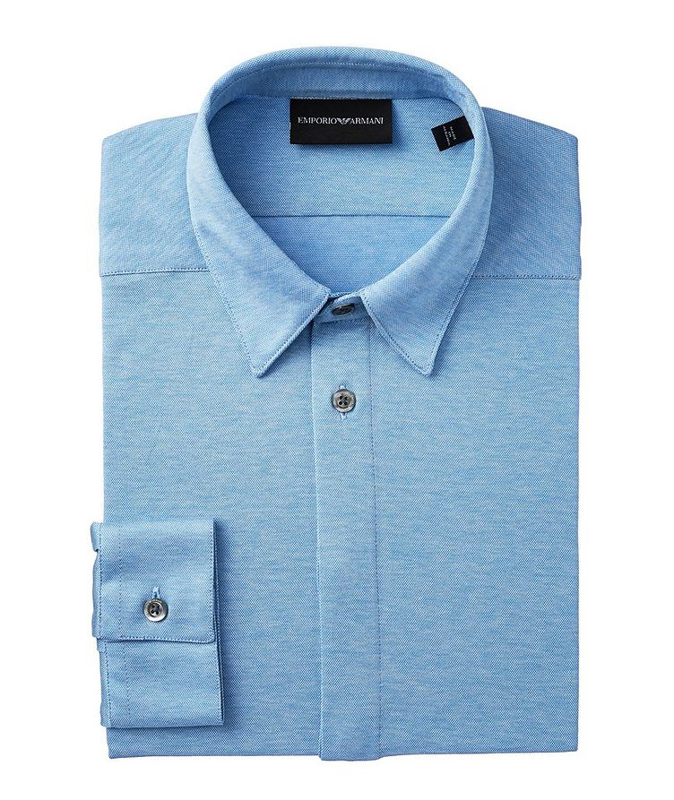 Slim-Fit Cotton-Jersey Shirt image 0