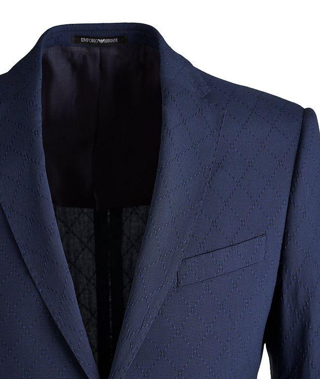 M-Line Diamond Wool-Blend Suit picture 3