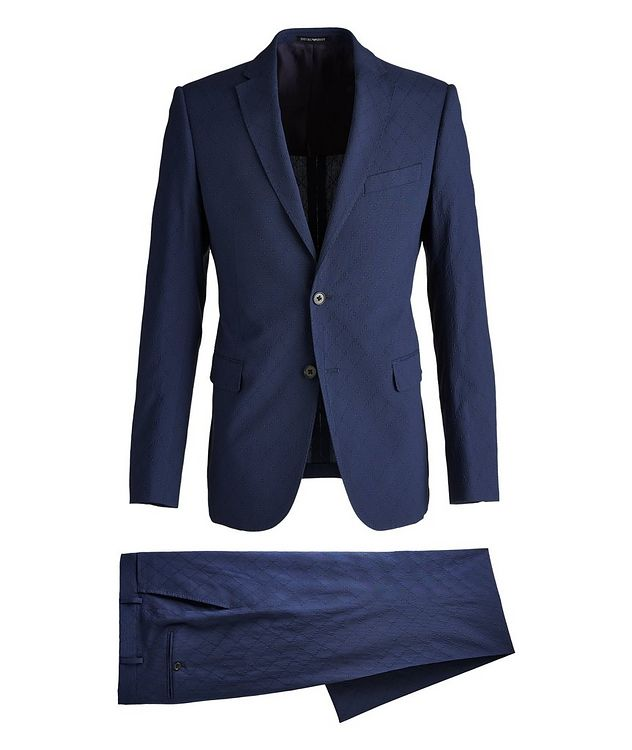 M-Line Diamond Wool-Blend Suit picture 1