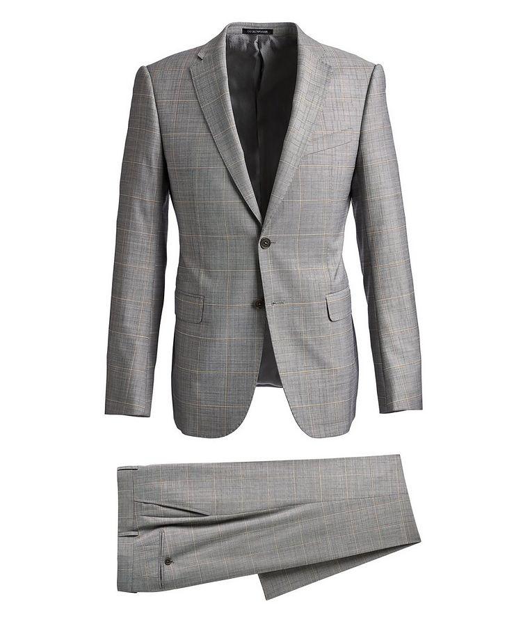 M-Line Windowpane Suit image 0