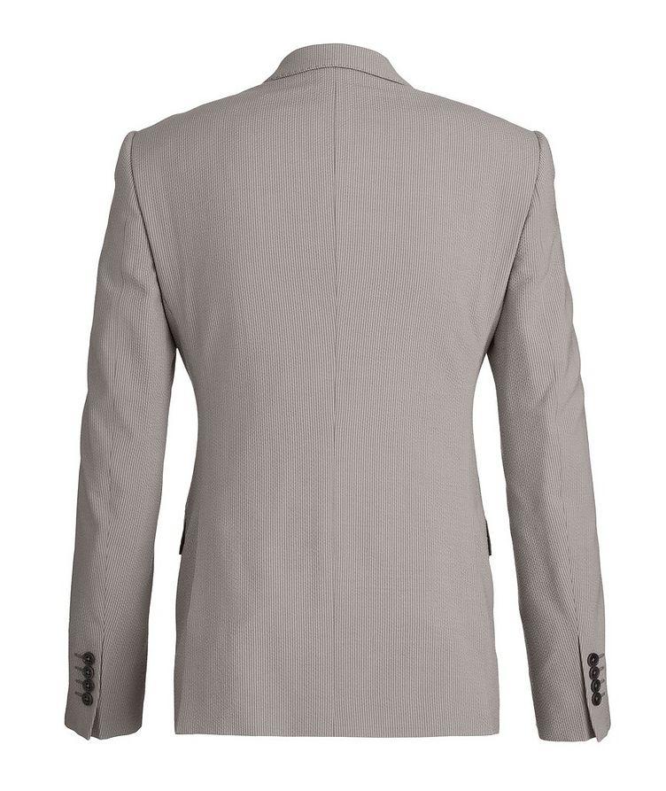 M-Line Seersucker Stretch-Wool-Silk Suit image 1