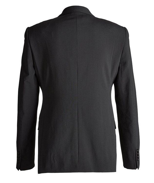 M-Line Seersucker Stretch-Wool-Silk Suit picture 2