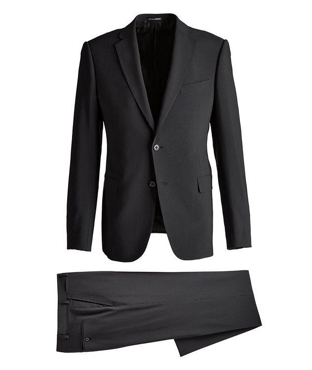 M-Line Seersucker Stretch-Wool-Silk Suit picture 1