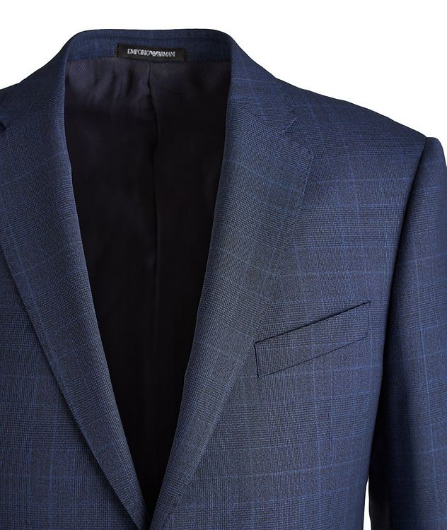 M-Line Contemporary Fit Wool Suit picture 3