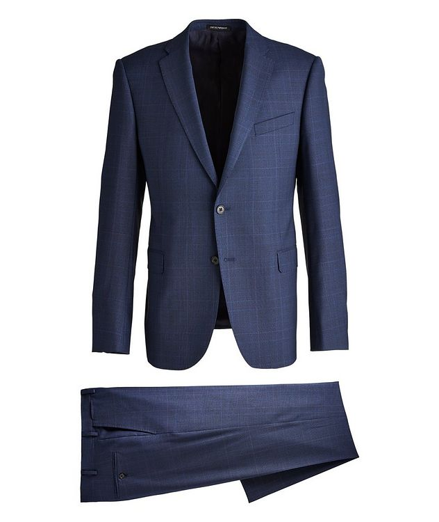 M-Line Contemporary Fit Wool Suit picture 1