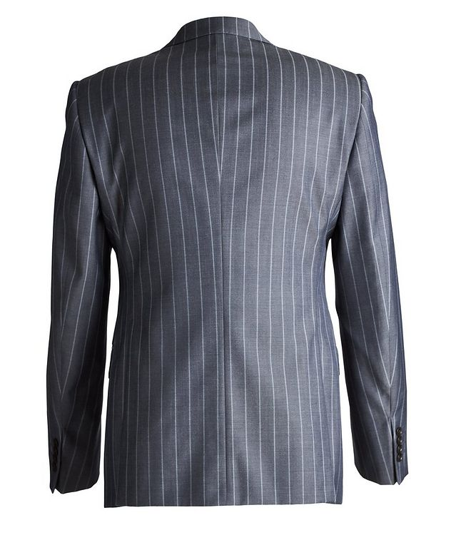 M-Line Striped Wool-Blend Suit picture 2
