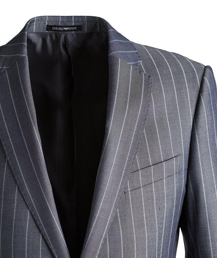 M-Line Striped Wool-Blend Suit image 2