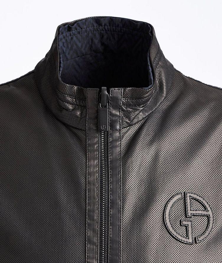 Reversible Leather Jacket image 2