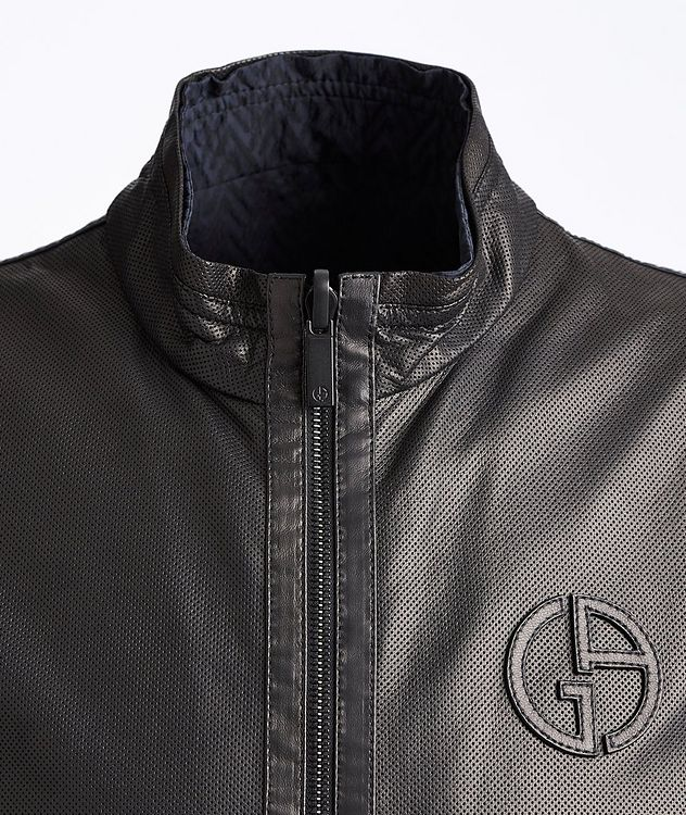 Reversible Leather Jacket picture 3