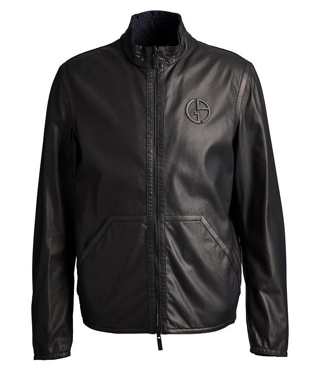 Reversible Leather Jacket picture 1