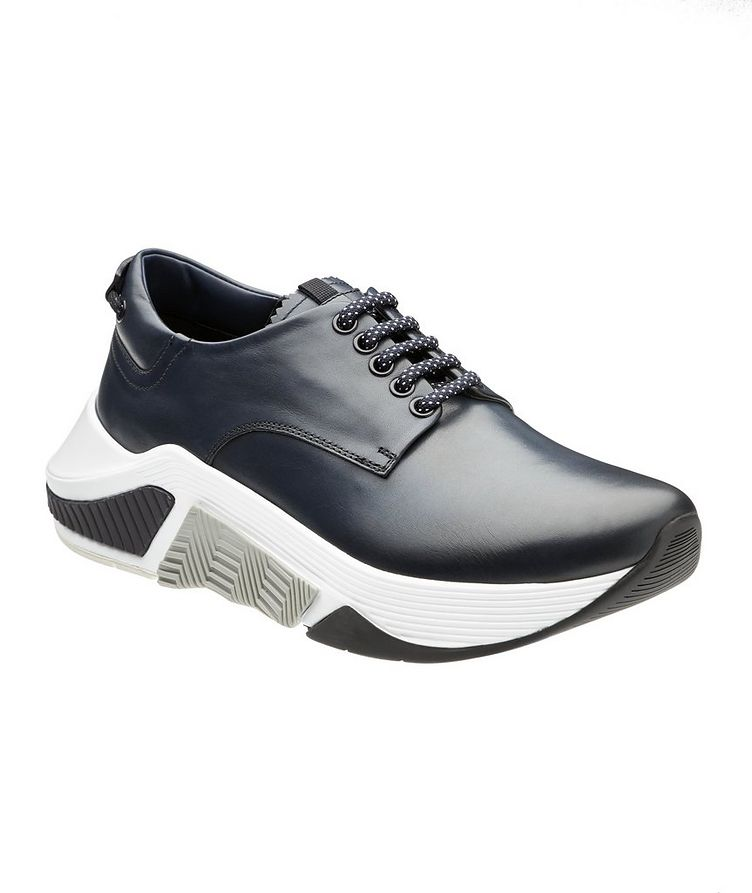 Chunky Leather Sneakers image 0