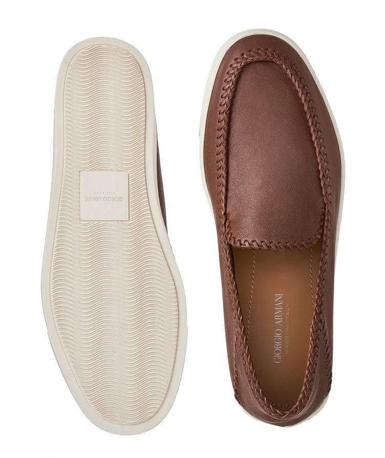 Slip-On Leather Sneakers image 2